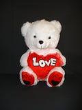 Urso com amor Fotos de Stock