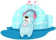 Urso com Igloo Imagens de Stock
