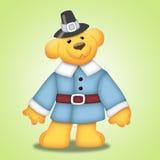 Urso da acção de graças ilustração stock