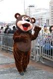 Urso da boneca da mascote Imagem de Stock Royalty Free