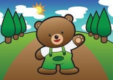 Urso da criança Fotografia de Stock