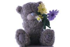 Urso da flor Foto de Stock Royalty Free