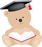 Urso da graduação ilustração royalty free