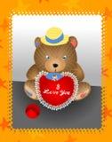 Urso 01 da peluche Fotos de Stock