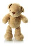 Urso da peluche em seus pés Imagens de Stock Royalty Free