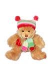 Urso da peluche no branco Imagem de Stock Royalty Free