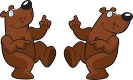 Urso de dança Imagem de Stock