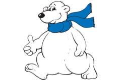 Urso de gelo Fotografia de Stock