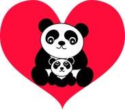urso de panda Fotografia de Stock Royalty Free