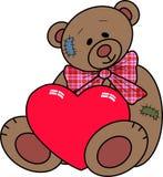 urso de peluche ilustração royalty free
