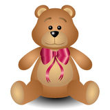 Urso de peluche Fotos de Stock Royalty Free