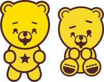 Urso de peluche brincalhão Foto de Stock