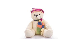 Urso de peluche do brinquedo Foto de Stock Royalty Free