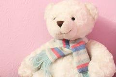 Urso de peluche do brinquedo imagem de stock