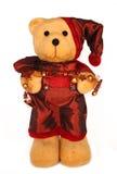 Urso de peluche do Natal Imagem de Stock
