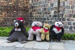 Urso de peluche em Berlim, Alemanha Fotos de Stock Royalty Free