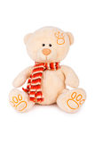 Urso de peluche macio Foto de Stock