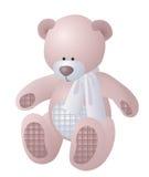 Urso de peluche pequeno ilustração royalty free