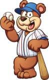 Urso do basebol Imagem de Stock