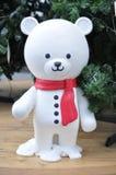 Urso do boneco de neve Fotos de Stock
