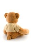 Urso do brinquedo isolado no branco Fotografia de Stock