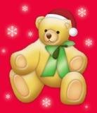 Urso do Natal ilustração stock