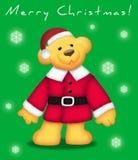 Urso do Natal ilustração royalty free