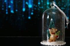 Urso do Natal Fotografia de Stock Royalty Free