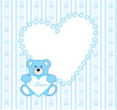 Urso do papel de parede Foto de Stock Royalty Free