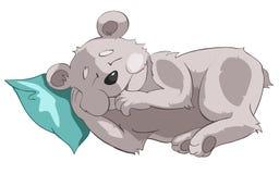 Urso do personagem de banda desenhada Fotos de Stock Royalty Free
