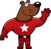 Urso do super-herói Foto de Stock Royalty Free