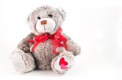 Urso doce da peluche Fotografia de Stock Royalty Free