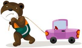 Urso dos desenhos animados Imagens de Stock
