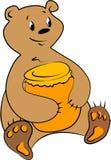 Urso engraçado Ilustração do Vetor