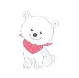 Urso engraçado Fotografia de Stock