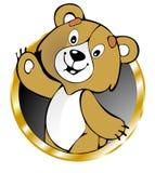 Urso engraçado Foto de Stock
