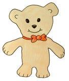 Urso engraçado da peluche Fotografia de Stock Royalty Free