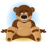 Urso feliz ilustração do vetor