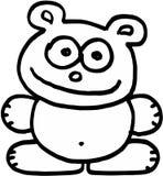 Urso louco Imagens de Stock Royalty Free