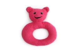 Urso macio do anel Imagem de Stock Royalty Free