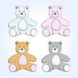 Urso macio do brinquedo Imagem de Stock Royalty Free
