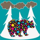 Urso na floresta Imagens de Stock