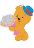 Urso no chapéu Ilustração do Vetor