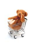 Urso no trole Foto de Stock Royalty Free