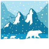 urso norte ilustração royalty free
