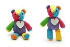 Urso pequeno bonito da peluche Imagens de Stock