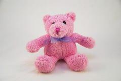 Urso Pinky da peluche Imagem de Stock