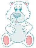 Urso polar bonito Imagens de Stock Royalty Free