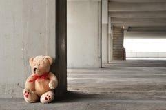 Urso só da peluche Fotografia de Stock Royalty Free