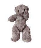 Urso triste e só da peluche Fotos de Stock